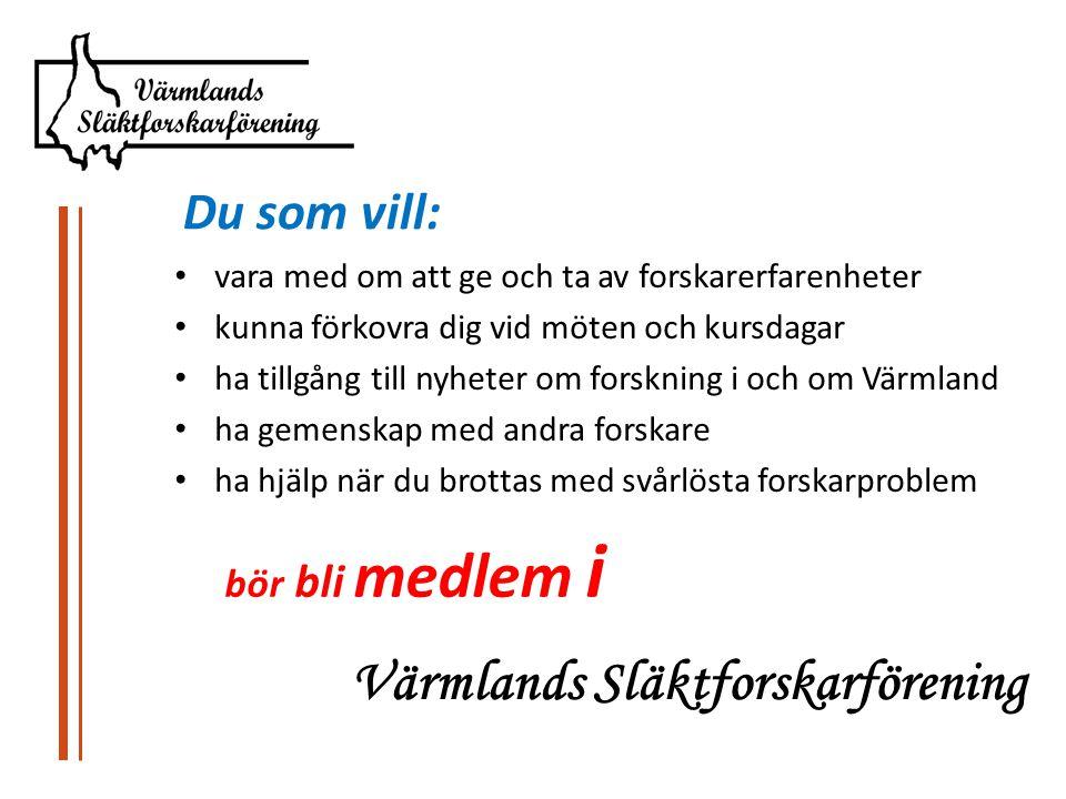 Värmlands Släktforskarförening