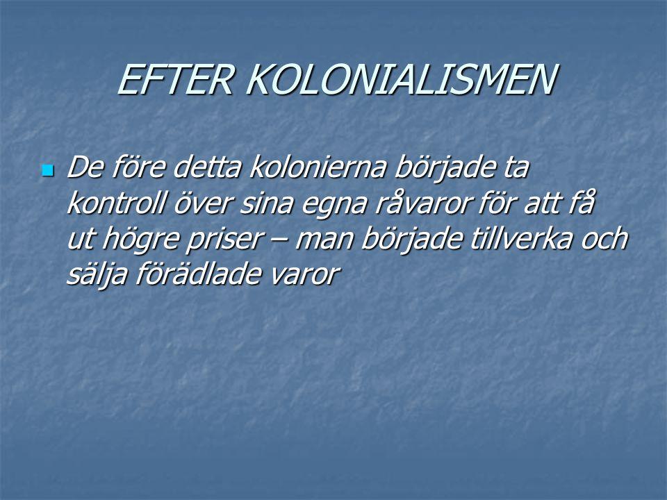 EFTER KOLONIALISMEN
