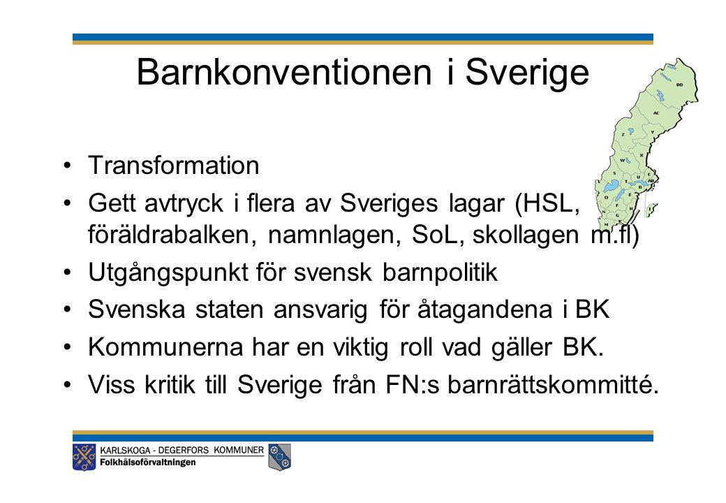 Barnkonventionen i Sverige