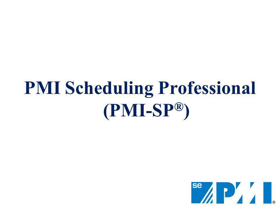 PMI Scheduling Professional (PMI-SP®)