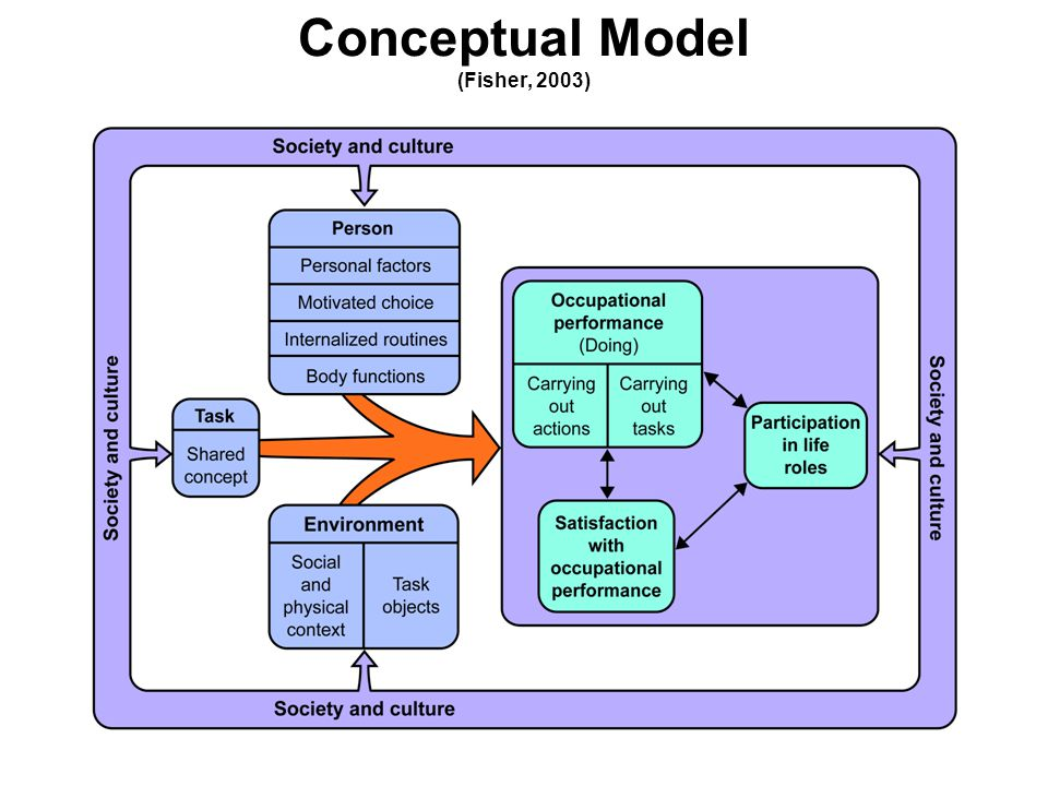 Conceptual Model (Fisher, 2003)