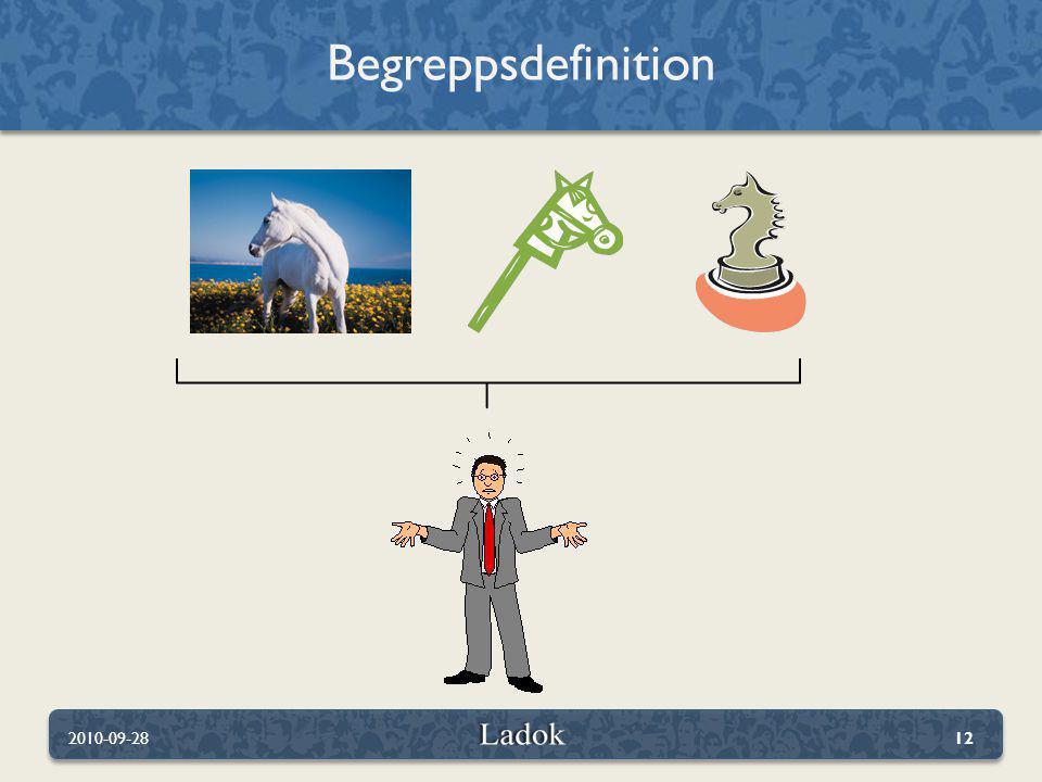 Begreppsdefinition 2010-09-28