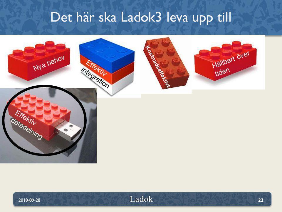 Det här ska Ladok3 leva upp till