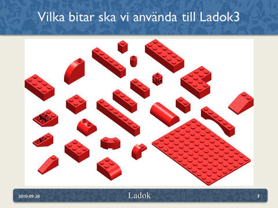 Vilka bitar ska vi använda till Ladok3