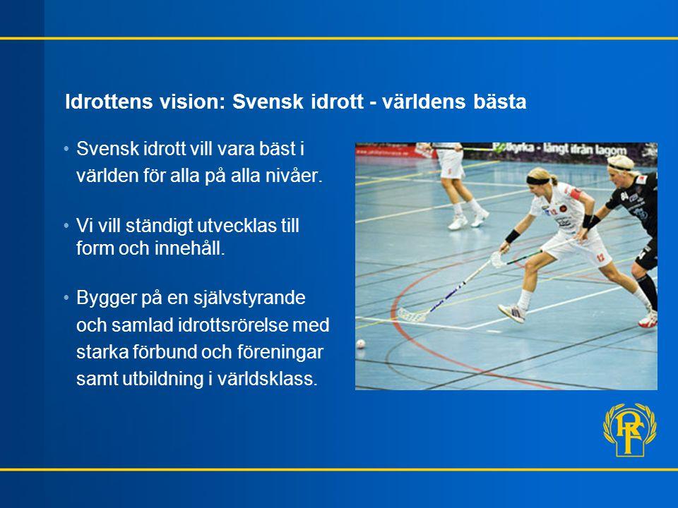Idrottens vision: Svensk idrott - världens bästa