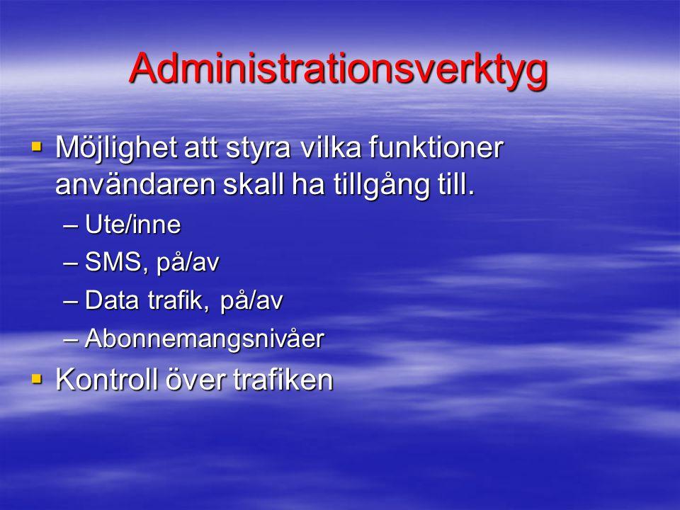 Administrationsverktyg