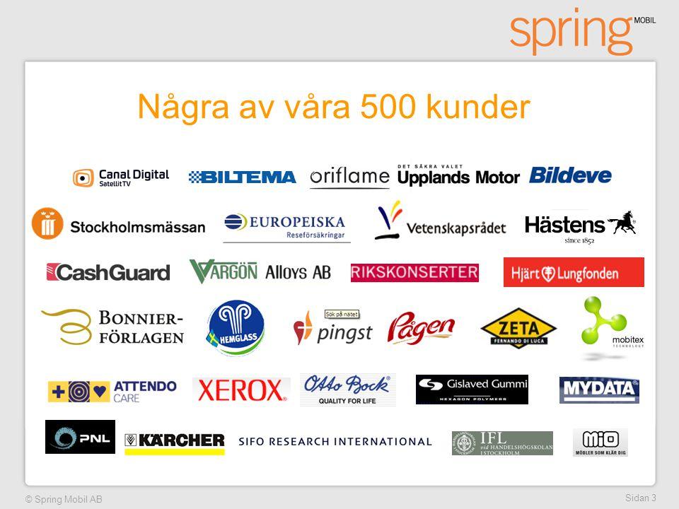 Några av våra 500 kunder Sidan 3