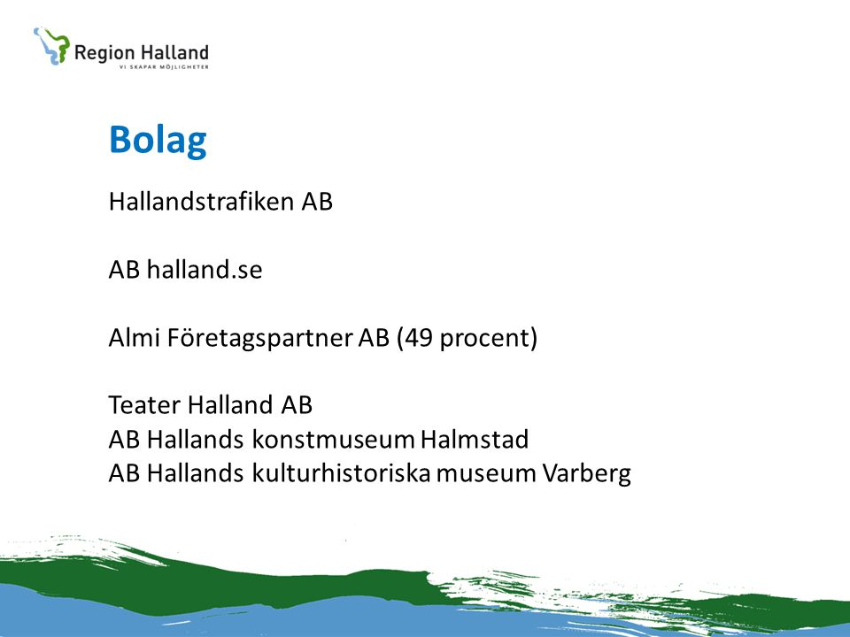 Bolag Hallandstrafiken AB AB halland.se