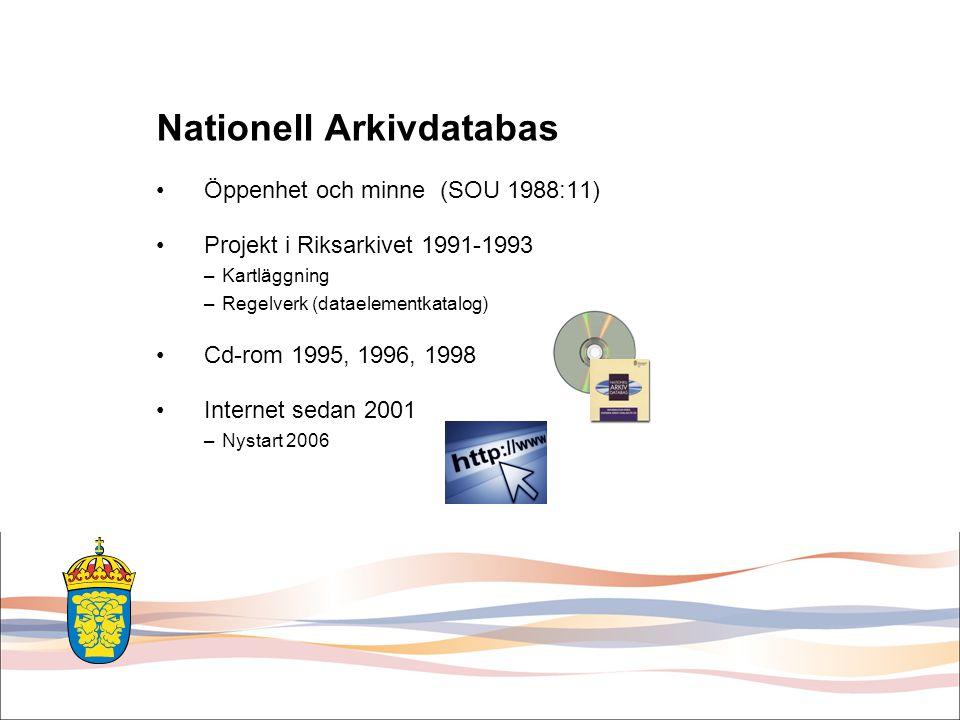 Nationell Arkivdatabas