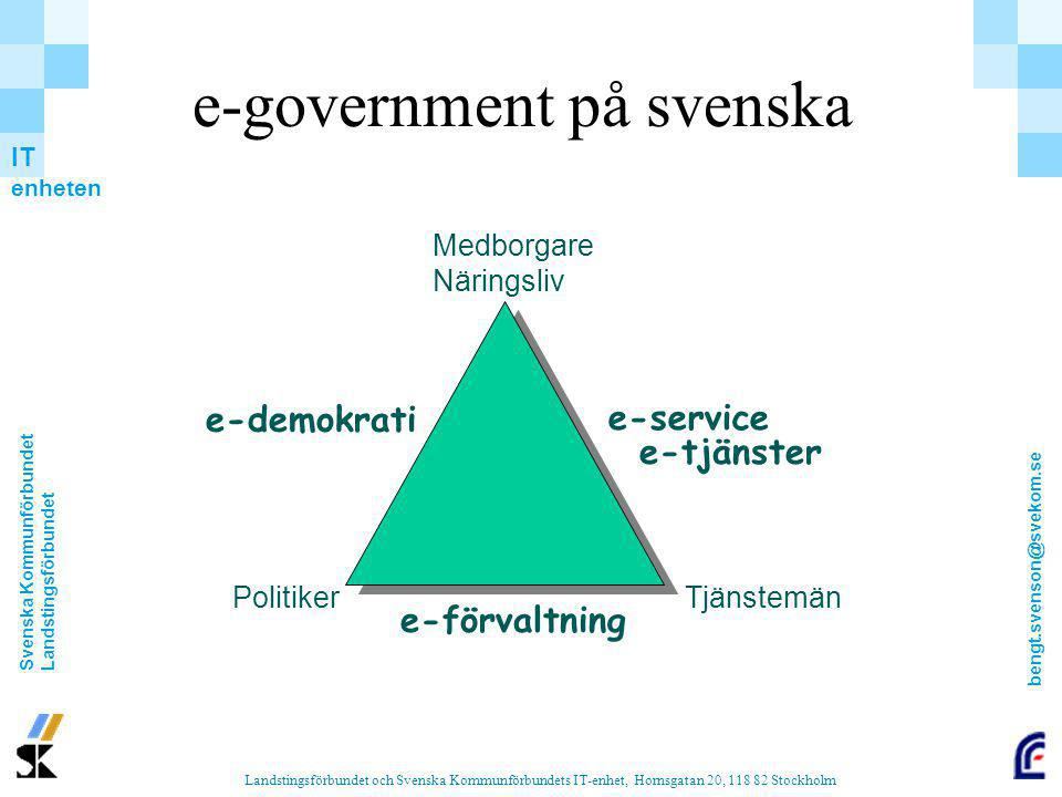e-government på svenska