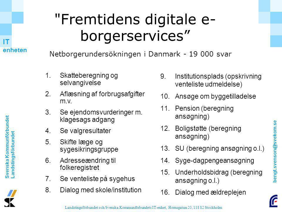 Fremtidens digitale e-borgerservices