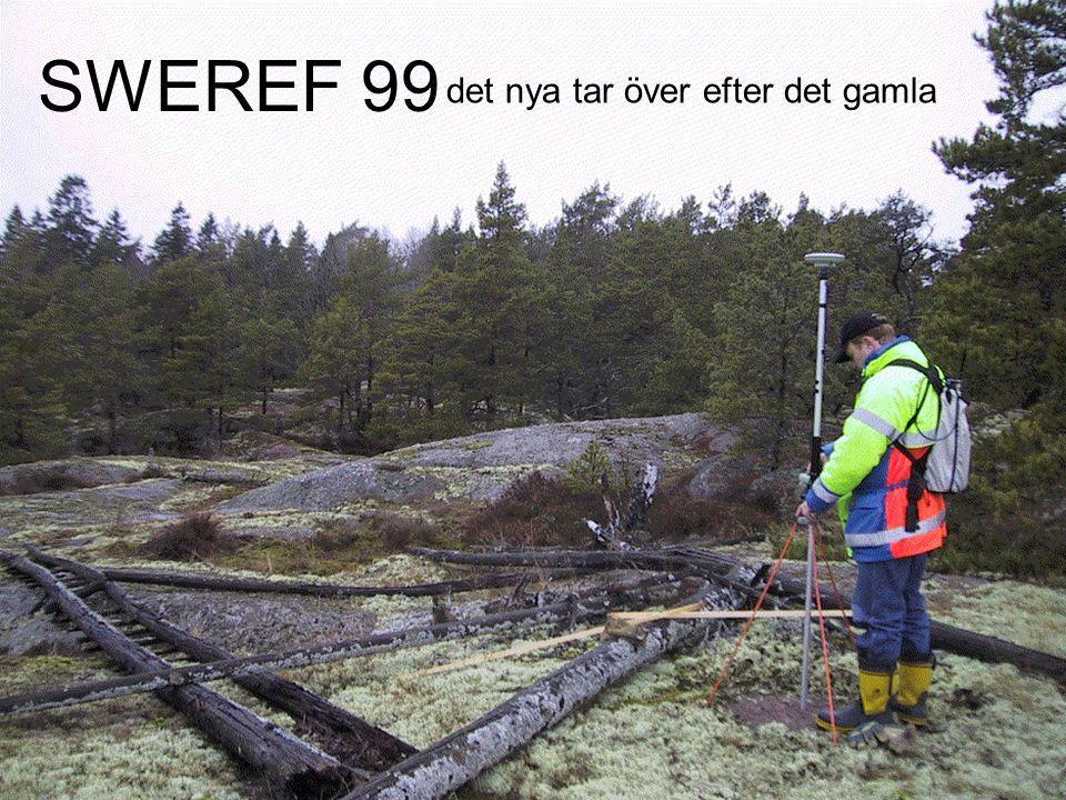 SWEREF 99 det nya tar över efter det gamla