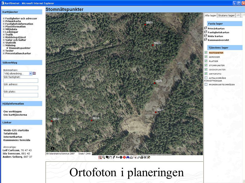 Ortofoton i planeringen
