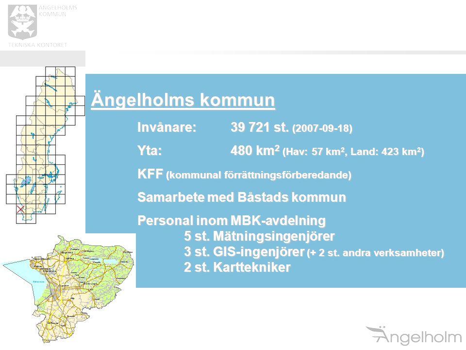 Ängelholms kommun Invånare: 39 721 st. (2007-09-18)