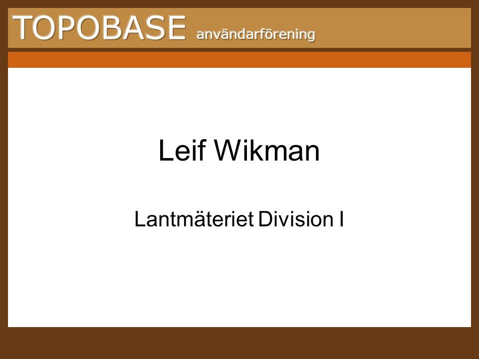 Lantmäteriet Division I