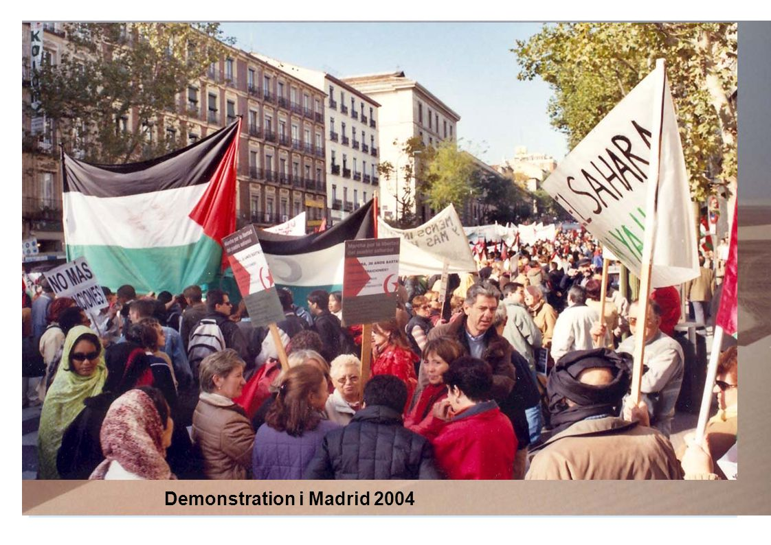 Demonstration i Madrid 2004