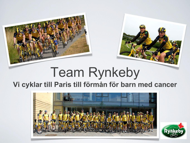 Vi cyklar till Paris till förmån för barn med cancer