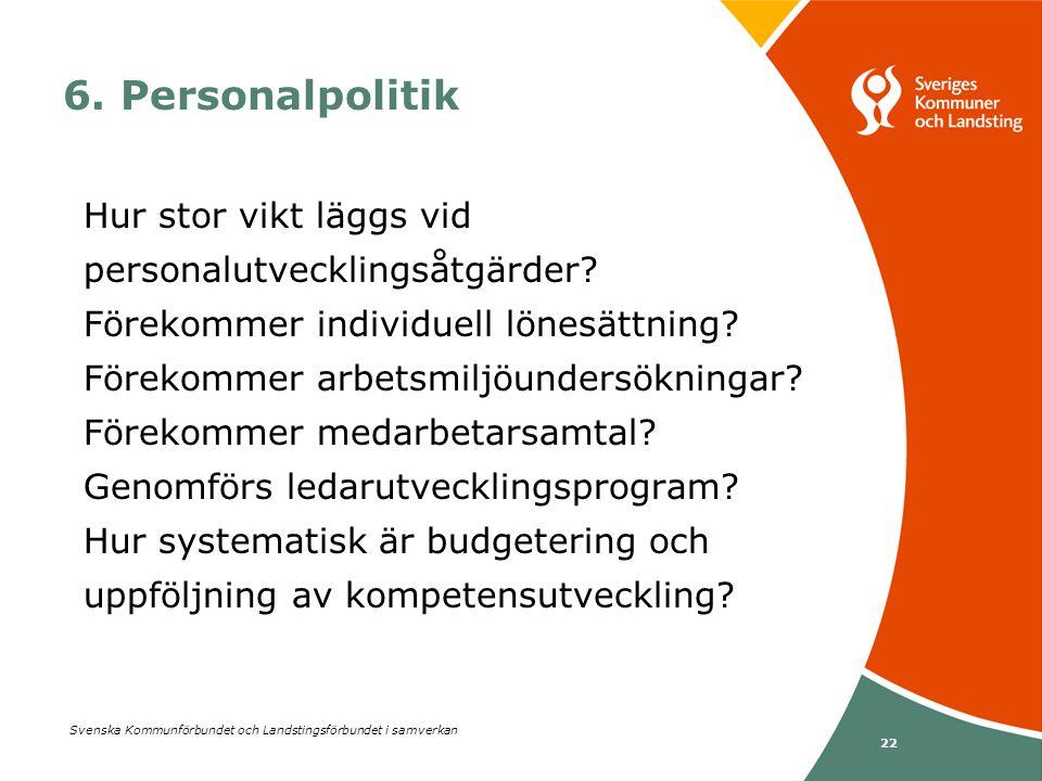 6. Personalpolitik