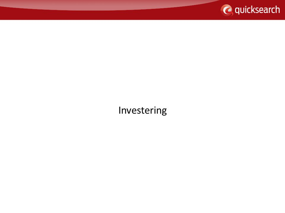 Investering 90