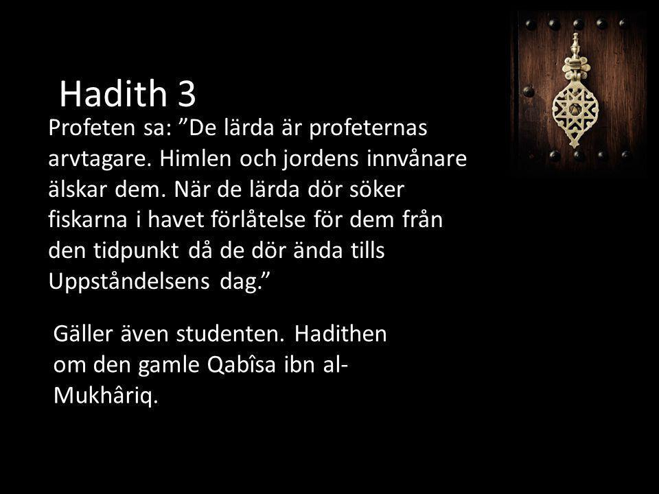 Hadith 3