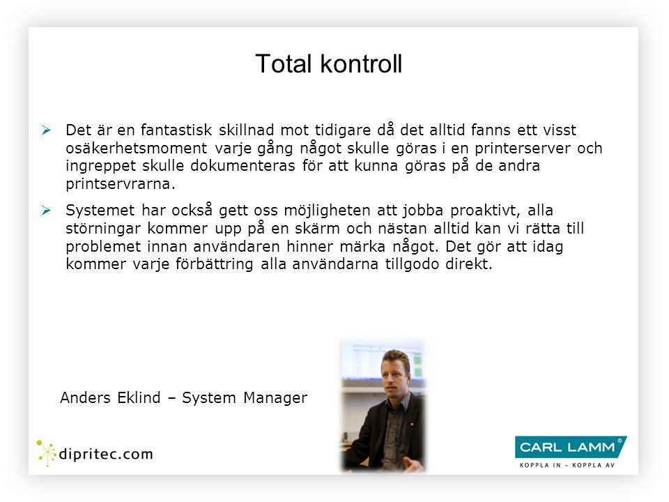 Total kontroll