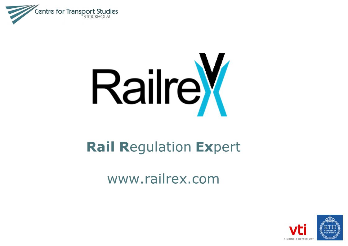 Rail Regulation Expert www.railrex.com