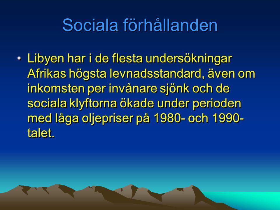 Sociala förhållanden