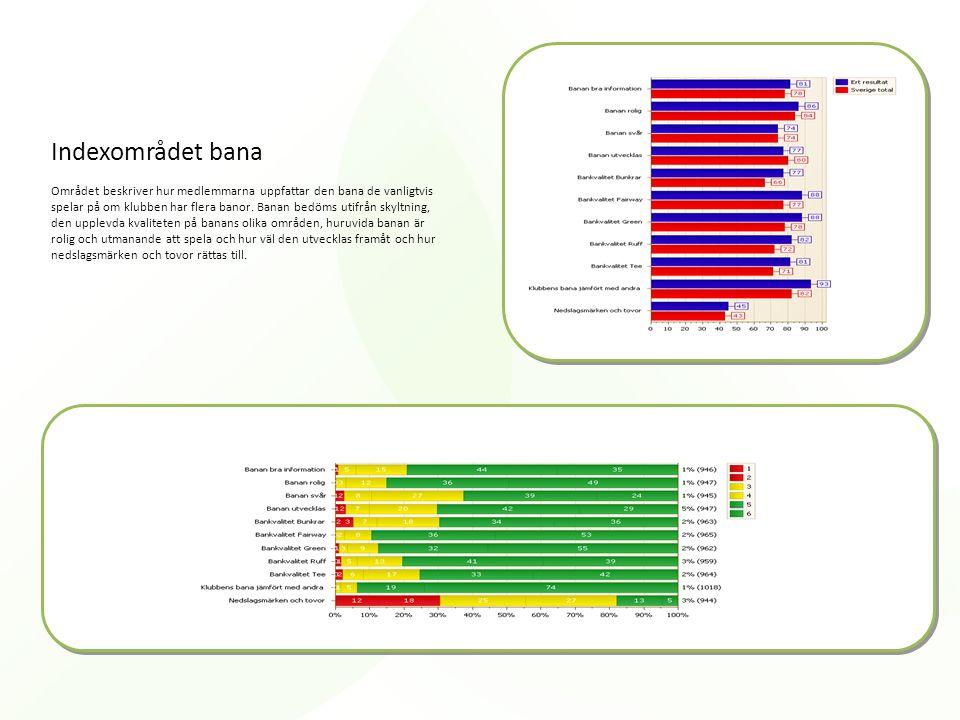 Indexområdet bana