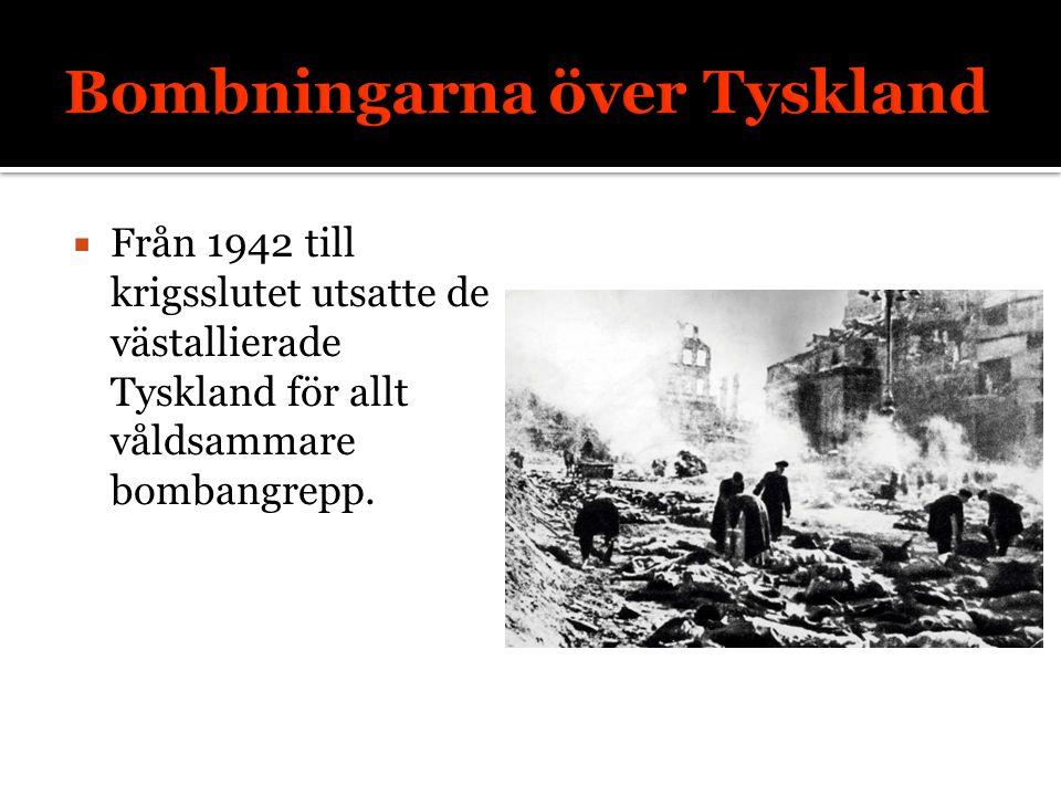 Bombningarna över Tyskland
