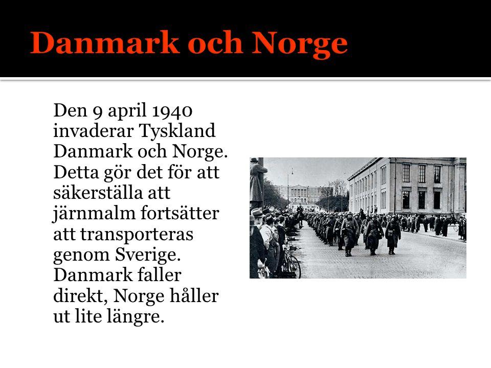 Danmark och Norge