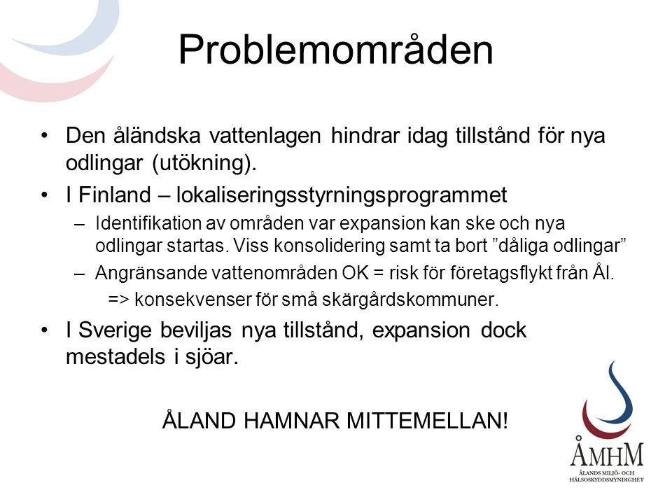 ÅLAND HAMNAR MITTEMELLAN!