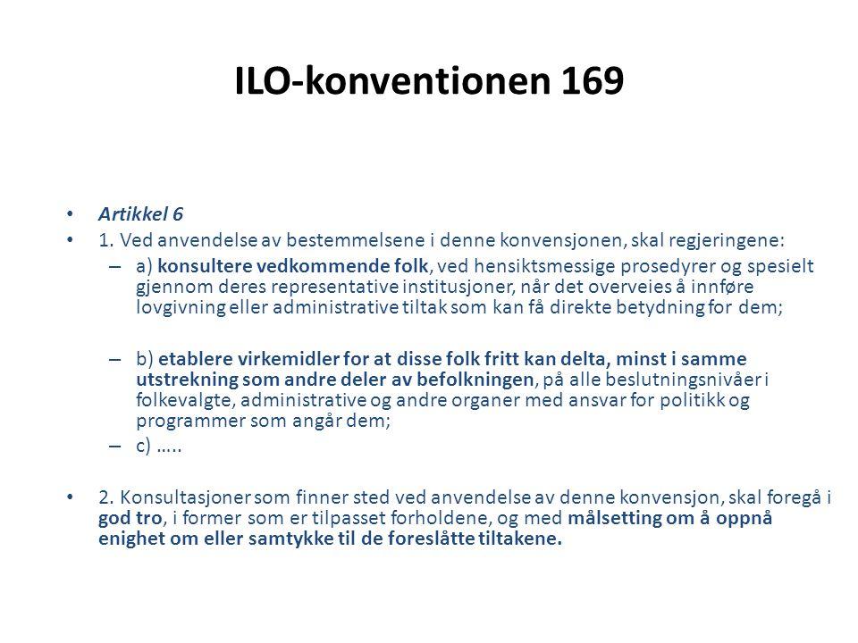 ILO-konventionen 169 Artikkel 6