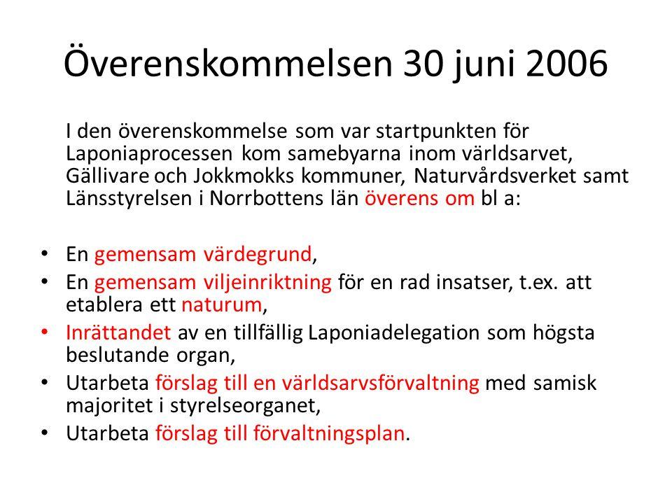 Överenskommelsen 30 juni 2006