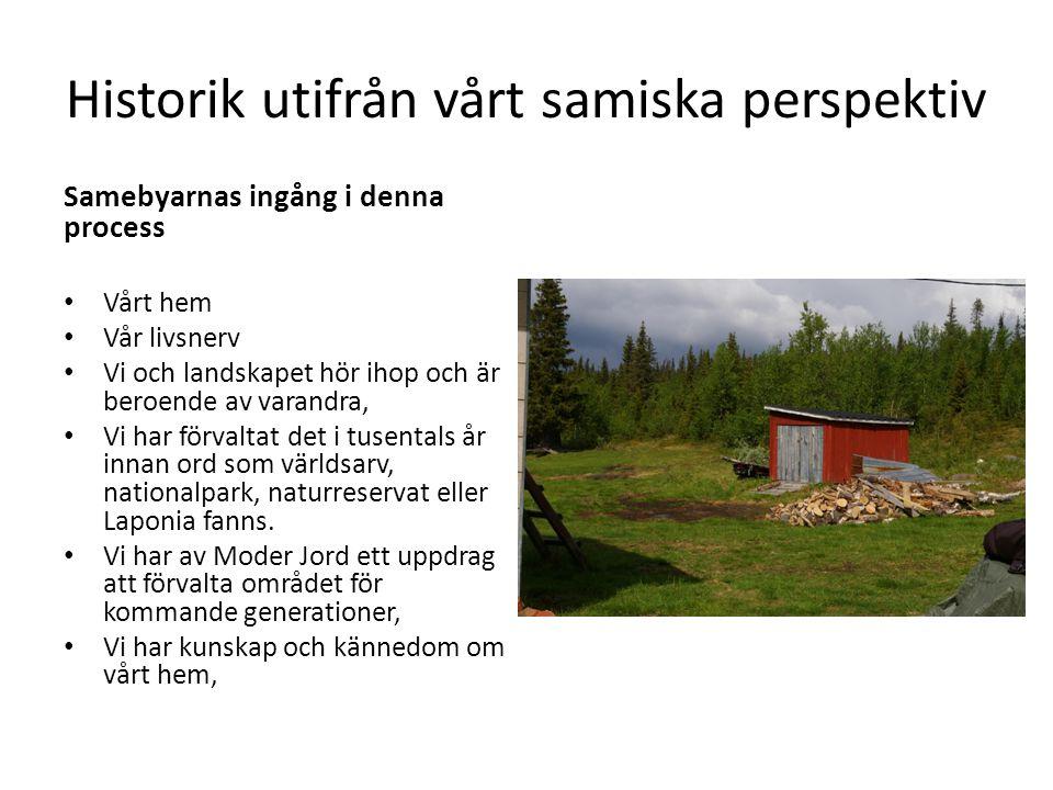 Historik utifrån vårt samiska perspektiv