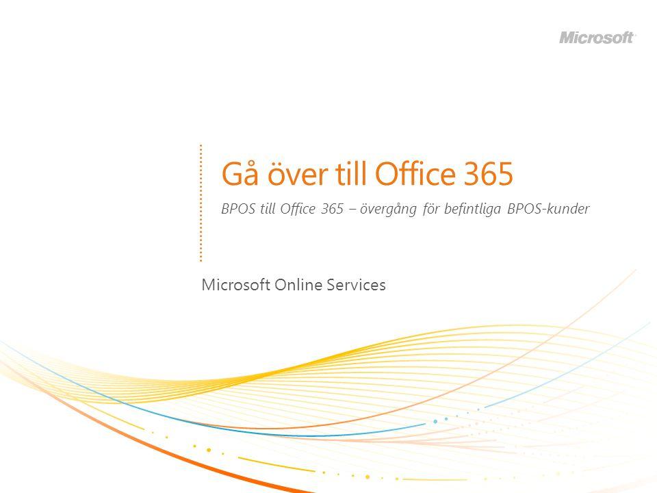 BPOS till Office 365 – övergång för befintliga BPOS-kunder
