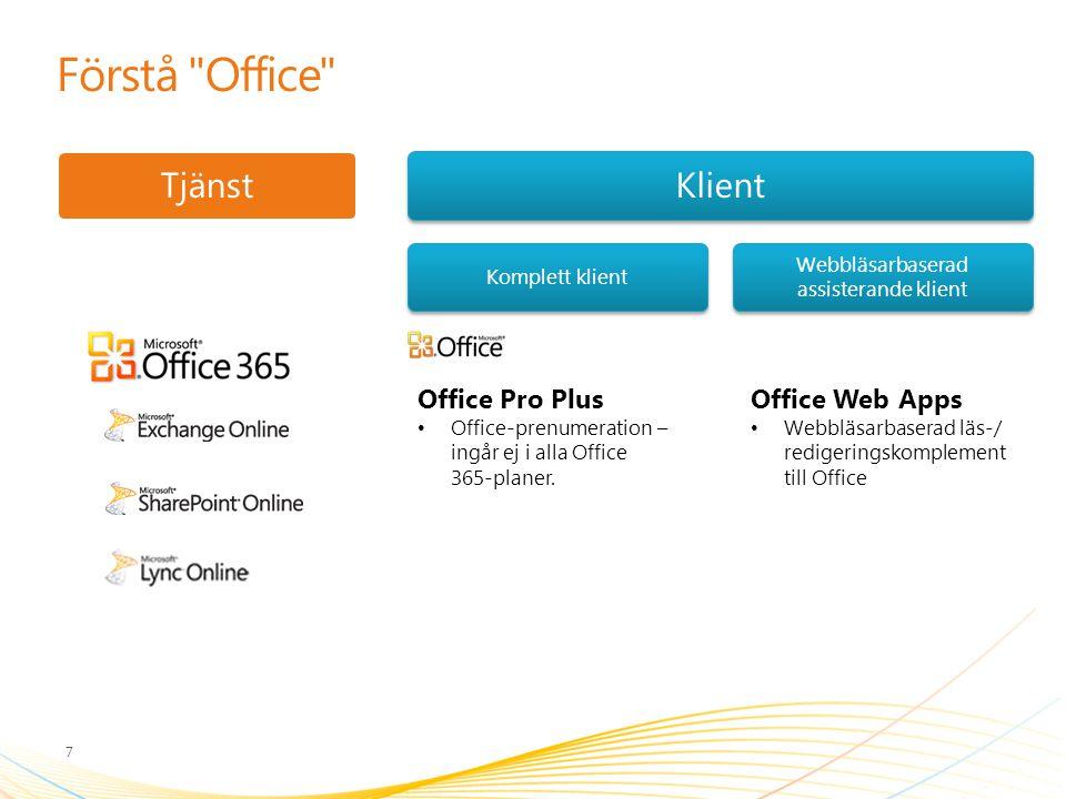 Webbläsarbaserad assisterande klient