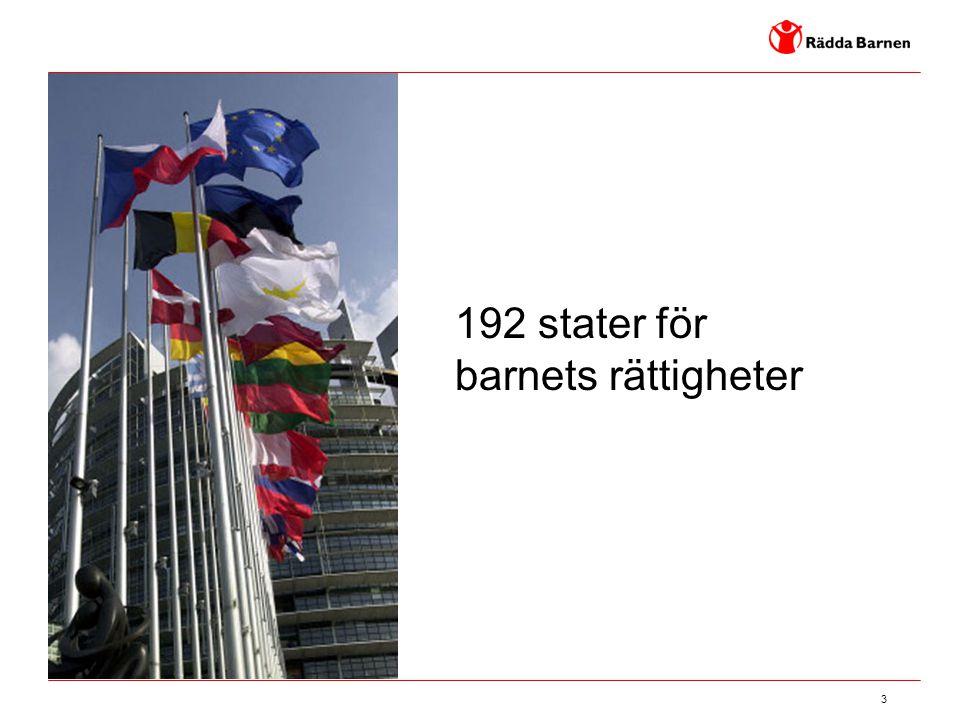192 stater för barnets rättigheter
