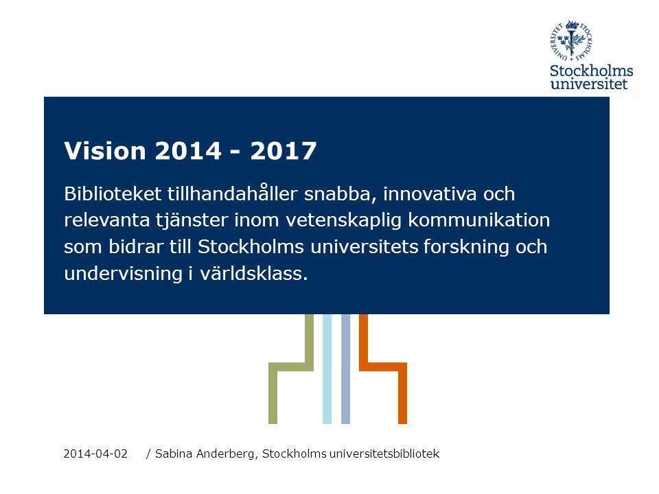 Vision 2014 - 2017