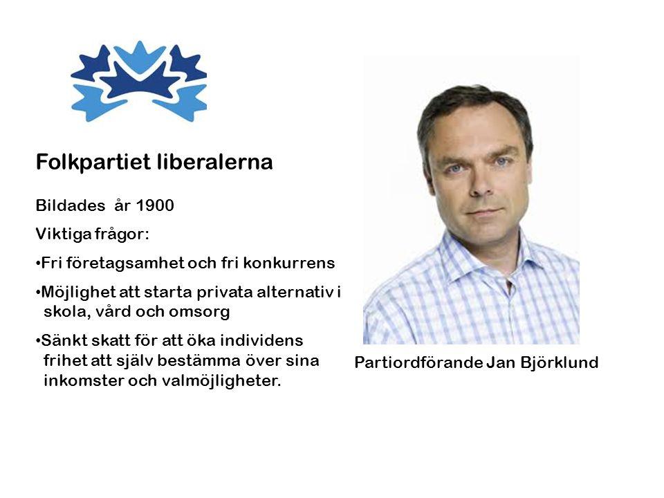 Folkpartiet liberalerna
