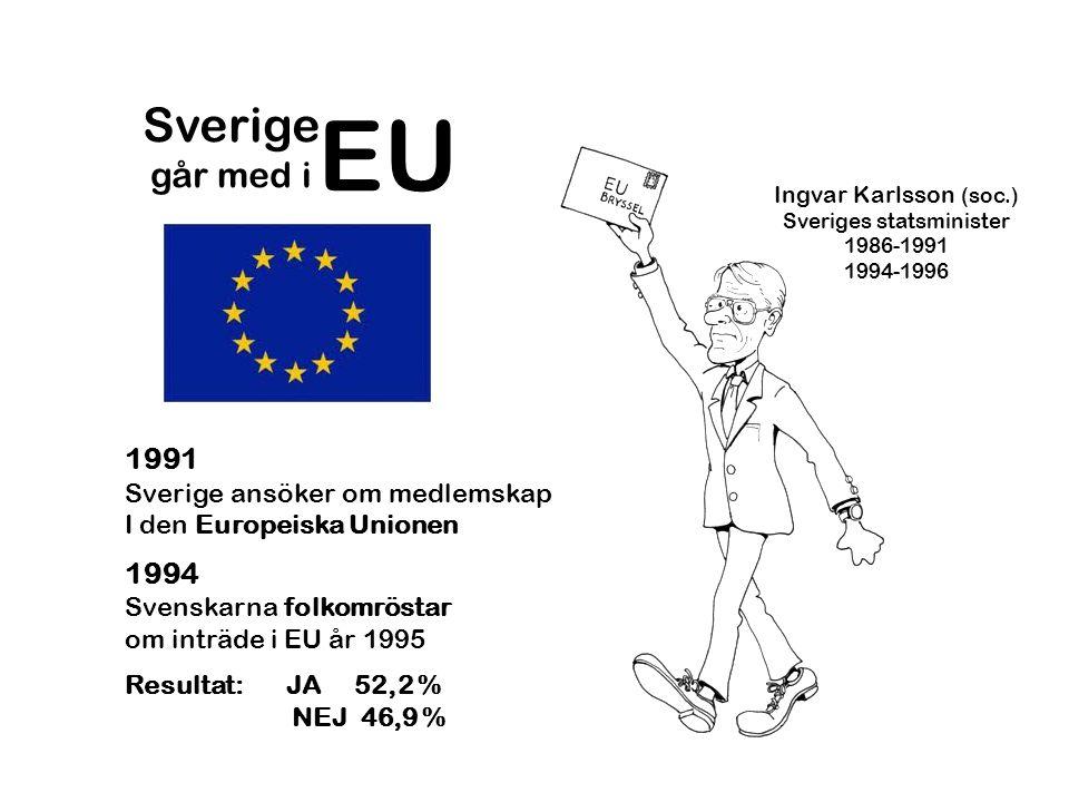 Sveriges statsminister