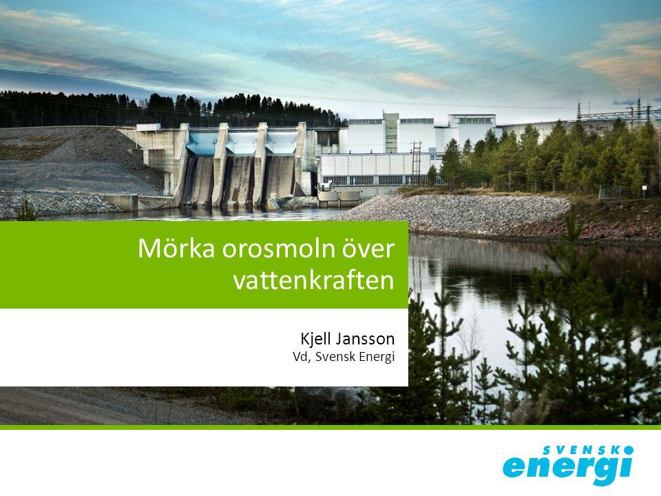 Mörka orosmoln över vattenkraften