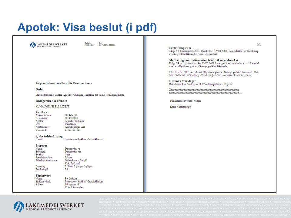 Apotek: Visa beslut (i pdf)