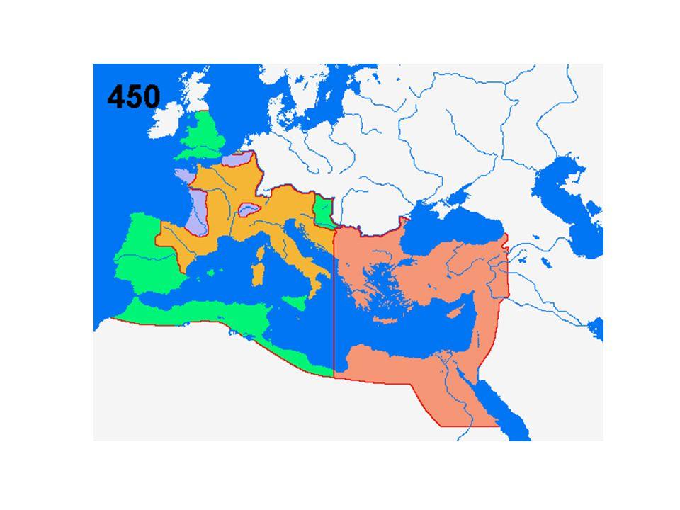 Gult= västrom brunt = östrom grönt=landförluster