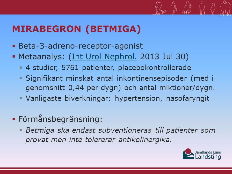 Mirabegron (Betmiga) Beta-3-adreno-receptor-agonist