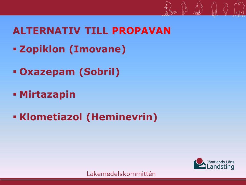 Alternativ till Propavan