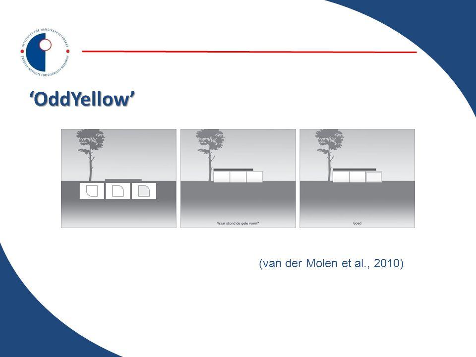 'OddYellow' (van der Molen et al., 2010)