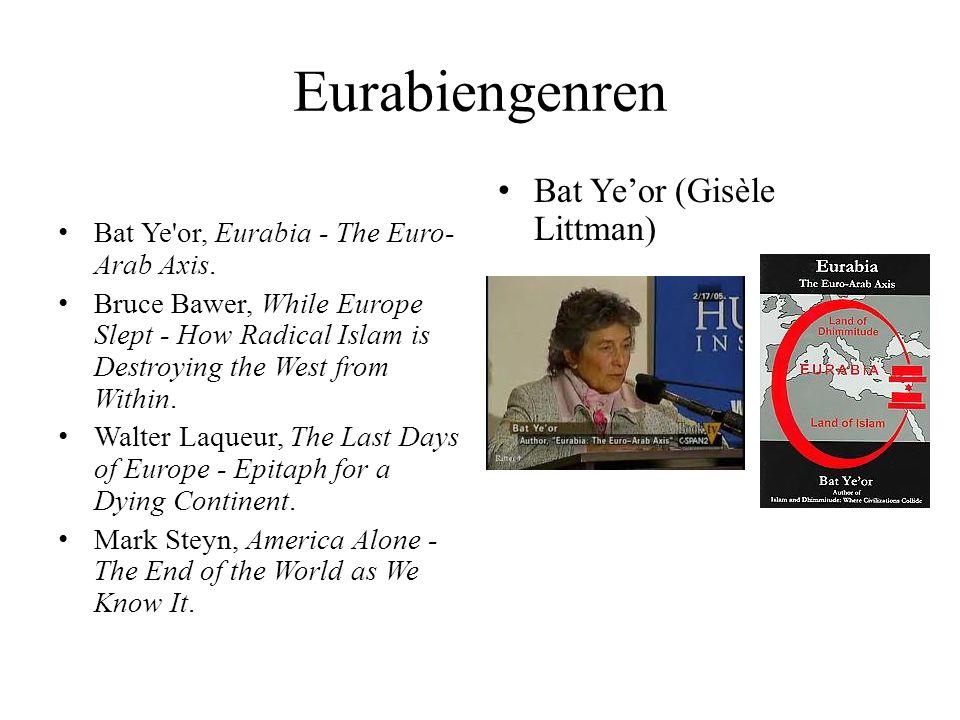 Eurabiengenren Bat Ye'or (Gisèle Littman)