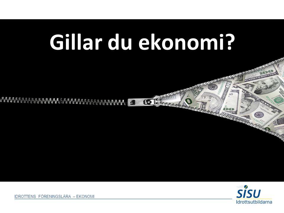 Gillar du ekonomi Gilla du ekonomi – en bra inledning av en inledande presentation av deltagarna i utbildningen.