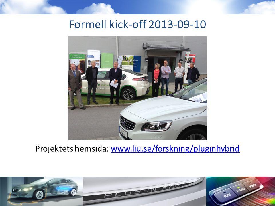 Projektets hemsida: www.liu.se/forskning/pluginhybrid