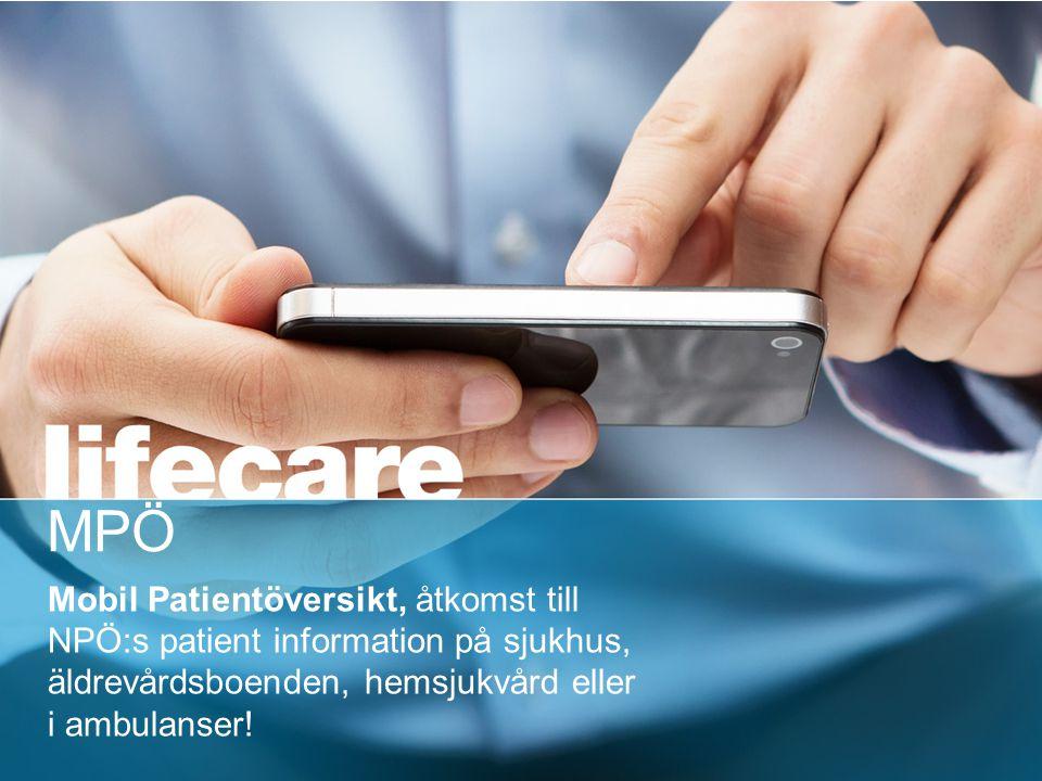 Nationell- & Mobil Patientöversikt (NPÖ & MPÖ)